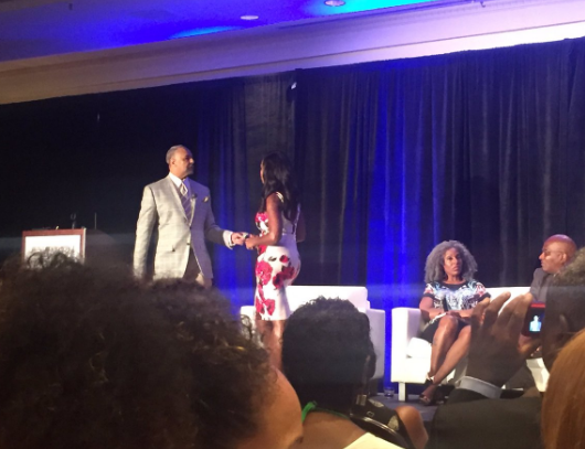 Omarosa & Ed Gordon Have Intense Argument During NABJ, Some Turn Their Back In Protest [VIDEO]