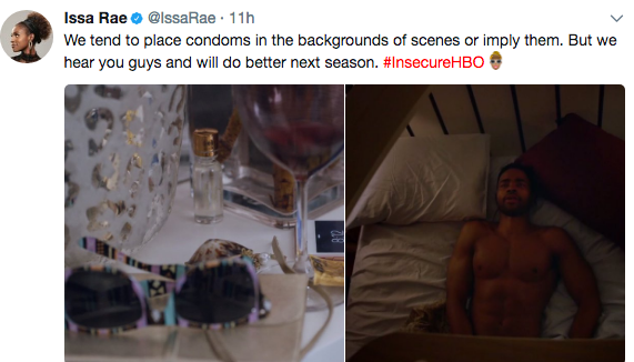 """Issa Rae Promises More Condoms On """"Insecure"""""""