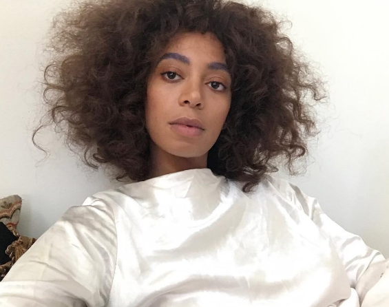 Solange's Cryptic Message to Racists: F*ck you!
