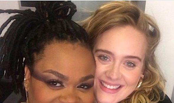Ciara & Baby Future Have Ice Cream Fun, Marlo Hampton Is Semi-Topless, Nicki Minaj's Throwback Swag + Adele Backstage With Jill Scott
