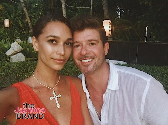 Robin Thicke's 22-Year-Old Girlfriend Pregnant [Ovary Hustlin']