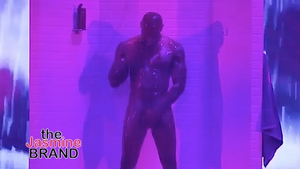 Tyson Beckford Butt Naked For Shower Scene