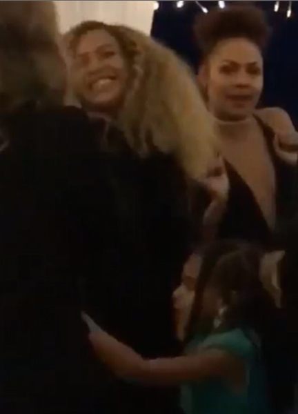 Blue Ivy Dances With Mom Beyonce At Wedding Reception [VIDEO]