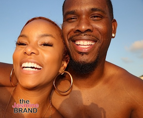 LeToya Luckett & New Fiance Hit Turks & Caicos