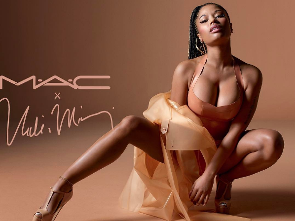 Nicki Minaj Launches Nude Lipsticks, Announces New MAC Collaboration