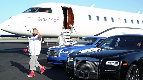 DJ Khaled Conquers His Fear, Flies For The 1st Time In 10 Years