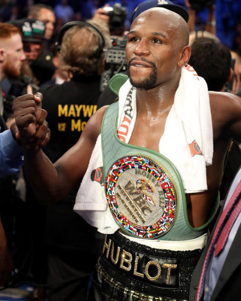 Mayweather Beats McGregor + Frank Ocean, J.Lo, Steve Harvey, LeBron James, Nick Cannon Spotted Ringside