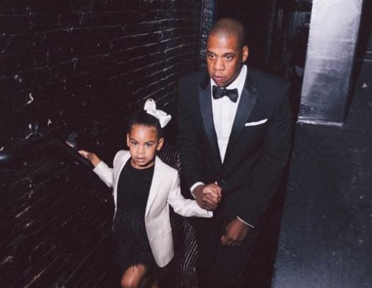 "Jay-Z On Discovering Blue Ivy's Rap Skills: I was like ""What the f*ck is going on!'"