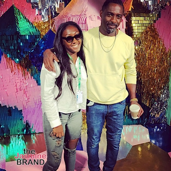 Pharrell Hits US Open, Brandy & Daughter Are Twinning + Idris Elba, Yandy Smith, Reginae Carter