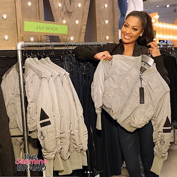 Lala Anthony Launches Collection w/ Lord & Taylor