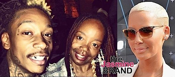 Amber Rose Wants Restraining Order Against Wiz Khalifa's Mother