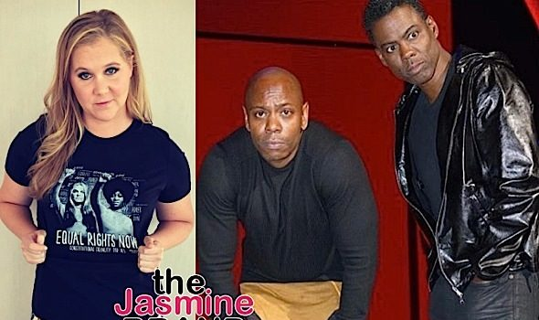 Amy Schumer: I Didn't Ask To Be Paid As Much As Chris Rock & Dave Chappelle!