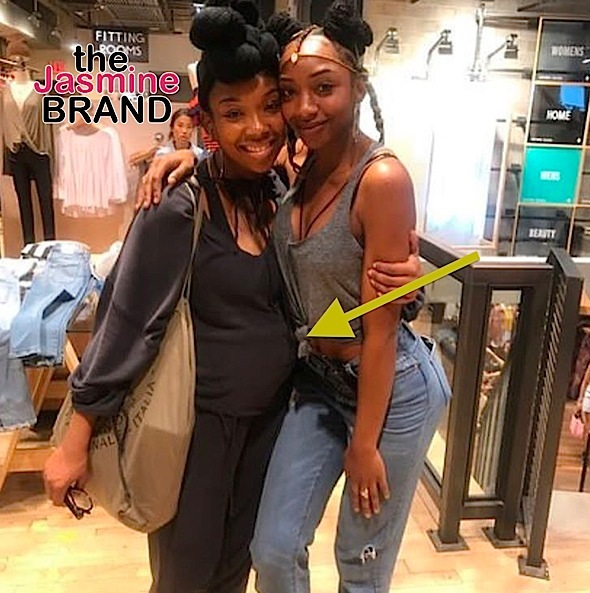 Brandy Fuels Pregnancy Rumors With New Photo [Ovary Hustlin']