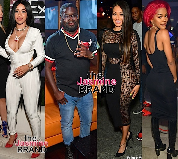 Yo Gotti, DeRay Davis, Cardi B, Lil Rel Howery, Lala, Teyana Taylor Party in Atl [Photos]