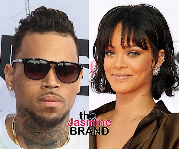 Chris Brown Openly Flirts With Ex Rihanna, As She Promotes Lingerie Line [Photo]