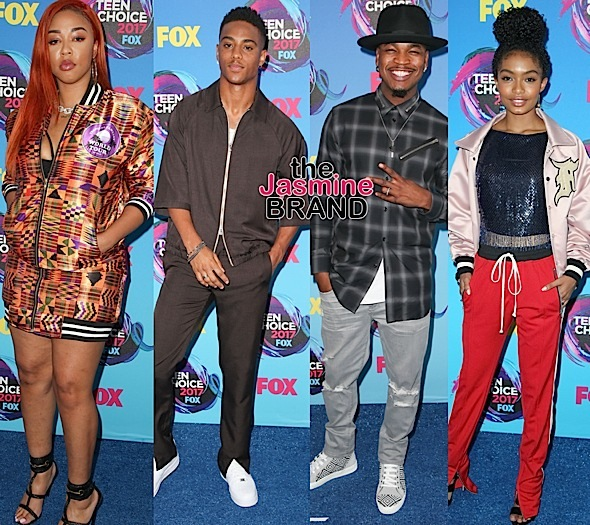 Zendaya, Rita Ora, Ryan Destiny, Naya Rivera, DJ Duffey, Keith Powers, NeYo, Yara Shahidi [Celebrity Stalking]