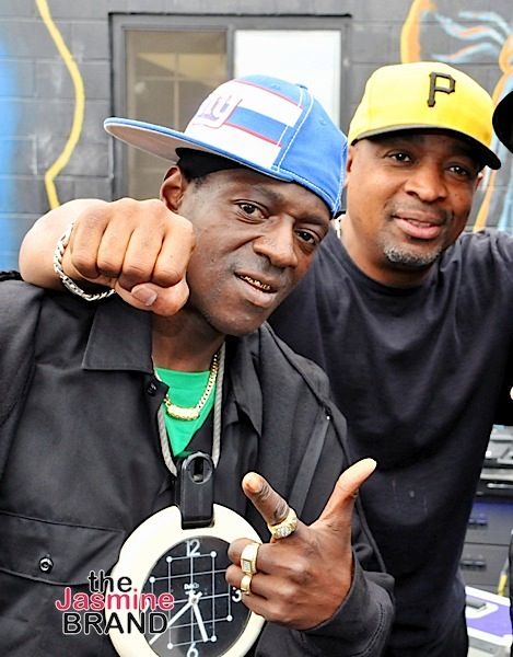 Flavor Flav Kicked Out Of Public Enemy Amid Disagreement Over Bernie Sanders Rally + Chuck D Reacts: I Gotta Leave Him At The Crib