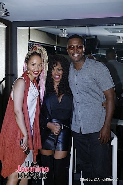 "Singer Shanice Celebrates ""Unsung"": Tami Roman, Kenny Lattimore, Shamicka Lawrence Attend"