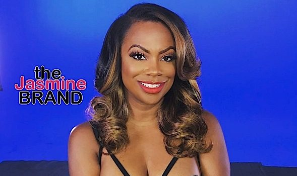 Kandi Burruss Prepping Solo Project [VIDEO]