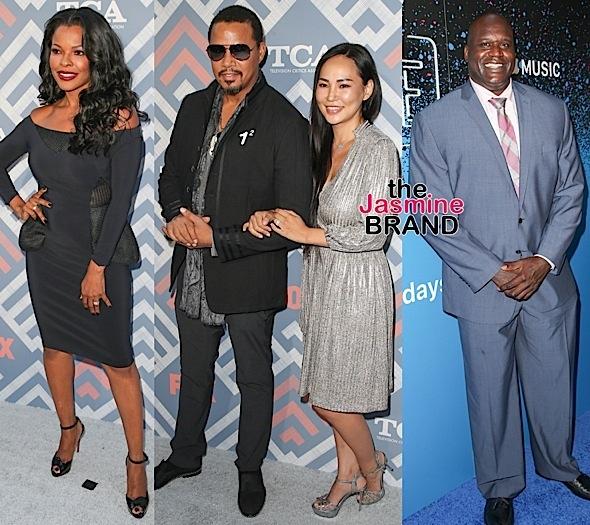 Vanessa Hudgens, Isaiah John, Keesha Sharp & Terrence Howard Hit TCA's + Shaq Spotted At Carpool Karaoke Bash