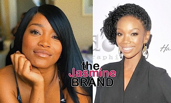 Keke Palmer Defends Brandy: She's an icon!