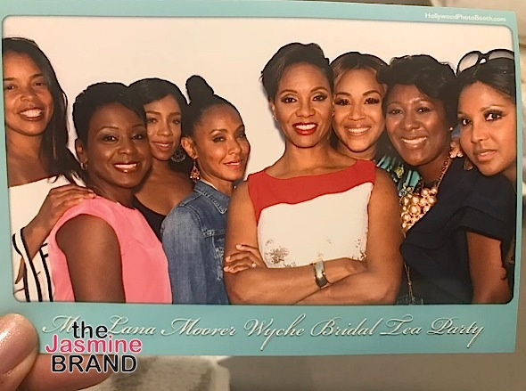 See MC Lyte's Bridal Tea Party + Jada Pinkett-Smith, Toni Braxton, Lil Mama Attend