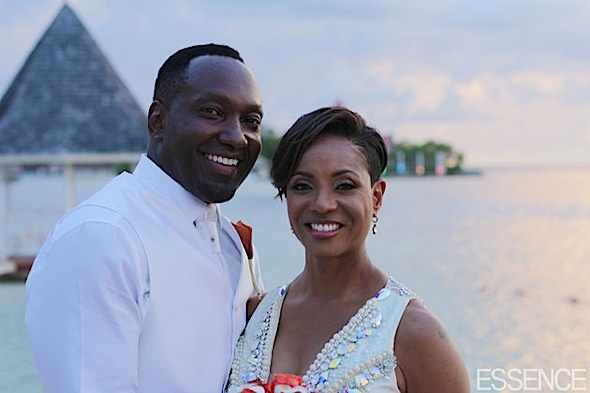 MC Lyte Wedding Photos!