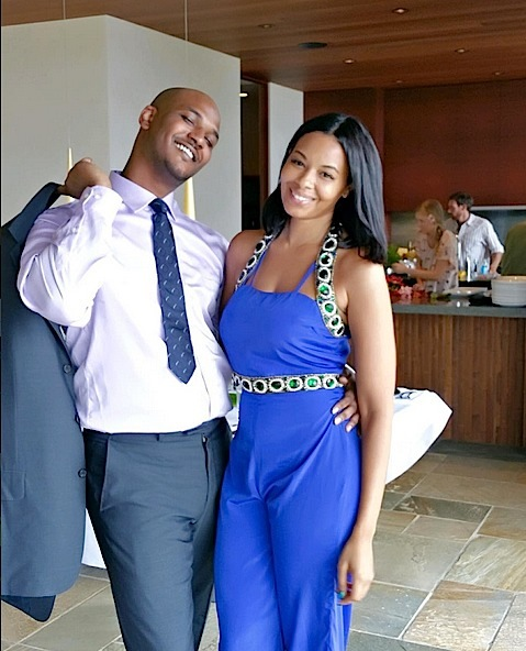 Vanessa Simmons & her Boyfriend Mike Wayans ready for the party