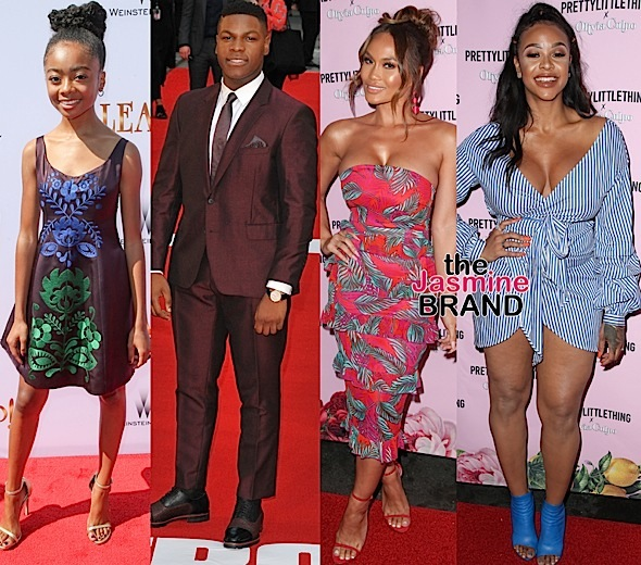 "Malika Haqq, Laura Govan & Masika Kalysha Hit ""Pretty Little Things"" + Skai Jackson At ""Leap"" Premiere, John Boyega Promotes ""Detroit"""