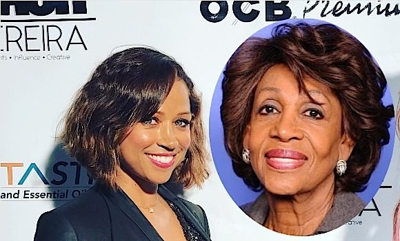 Stacey Dash Calls Maxine Waters A Corrupt Buffoon