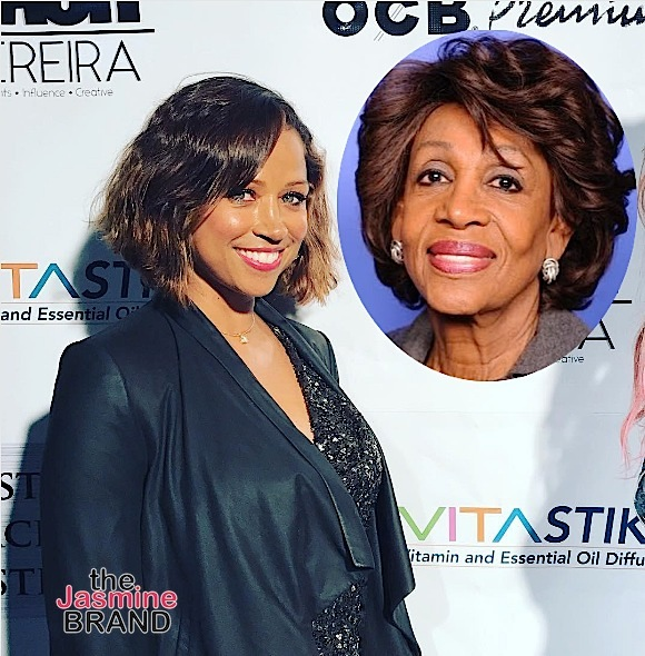 Stacey Dash Calls Maxine Waters A Buffoon