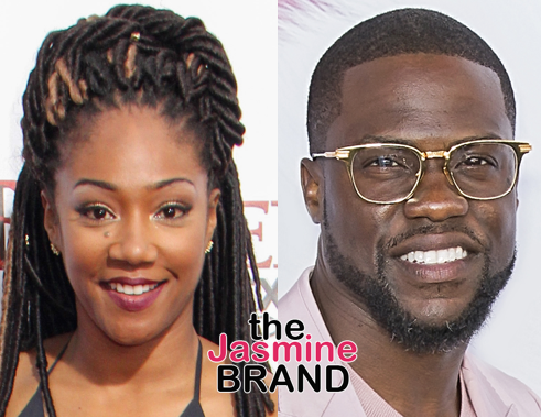 "Tiffany Haddish Says Kevin Hart Is ""Already Walking"""