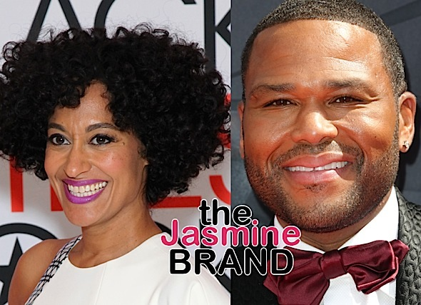 "Tracee Ellis Ross Didn't Like Anthony Anderson Before ""Black-ish"": I thought he was an asshole."