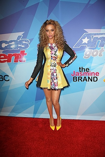 """Tyra Banks Leaving """"America's Got Talent,"""" Plans To Produce More TV"""