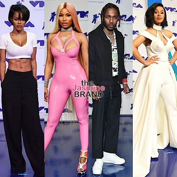 Red Carpet VMA's: Amber Rose, 21 Savage, Lil Yachty, DJ Khaled, Lil Mama, Katy Perry, Teyana Taylor,