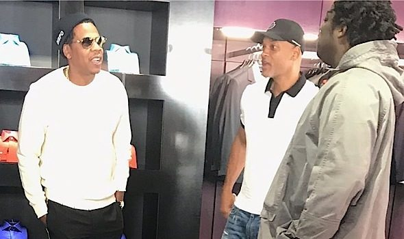 Kim Kardashian's Adorable Mommy Moment, Jay-Z Spotted w/ Will Smith, Mathew Knowles Teams Up w/ Peter Thomas + Tiffany Haddish, 50 Cent, Cardi B