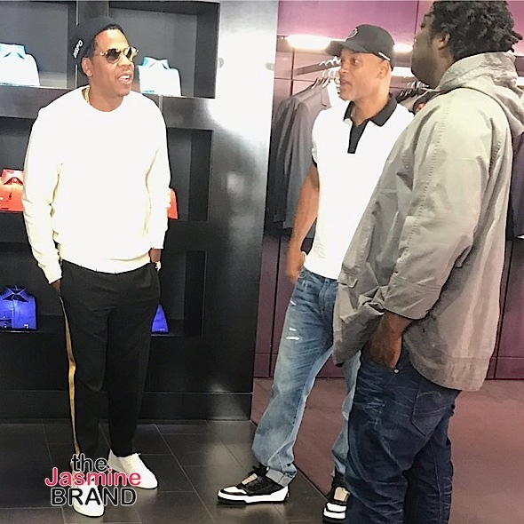 Kim Kardashian's Adorable Mommy Moment, Jay Z Spotted w/ Will Smith, Mathew Knowles Teams Up w/ Peter Thomas + Tiffany Haddish, 50 Cent, Cardi B
