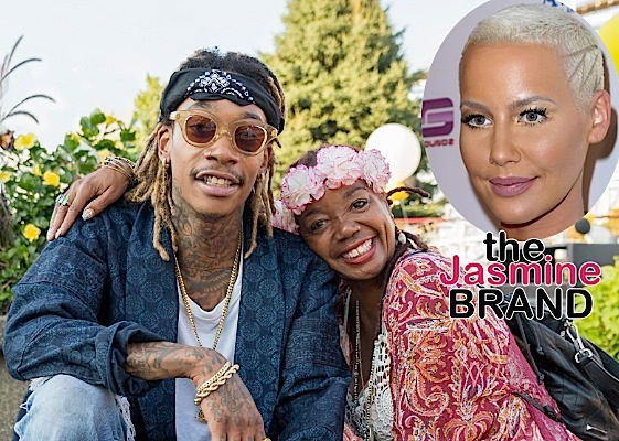 Amber Rose Sued By Wiz Khalifa's Mother!