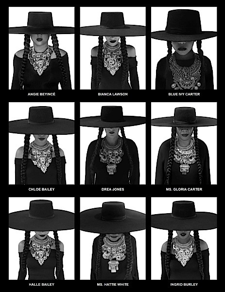 Beyonce's Bey Day: Blue Ivy, Michelle Williams, Kelly Rowland & Serena Williams Channel 'Formation'