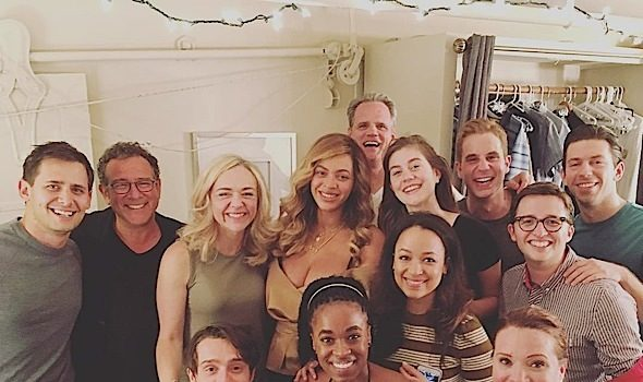 Beyonce Attends Broadway Musical in NYC [Photos]