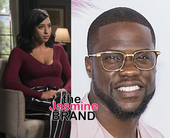 Montia Sabbag Cooperating With Kevin Hart: We're on the same side.