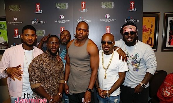 Kevin Hart Heartbeat Weekend: Usher, Donnell Rawlings, Dave Chappelle, Jermaine Dupri, T-Pain Attend