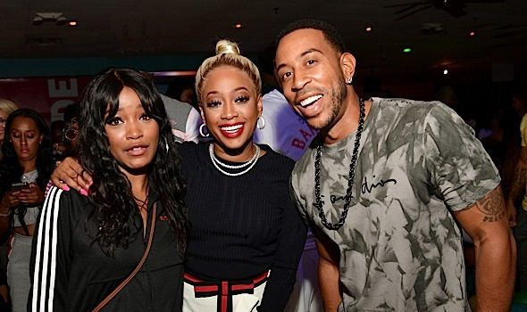 NeNe Leakes, Taye Diggs, Angela Simmons, Mack Wilds, Keke Palmer, Trina Spotted At Ludacris Bowling Bash