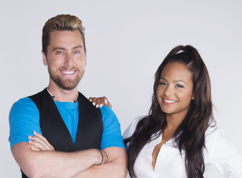 "Christina Milian & Lance Bass Host MTV's ""90's House"""