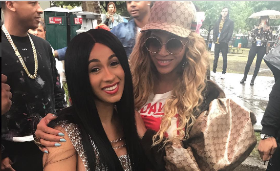 Beyonce & Cardi B Teaming Up For New Music? [Photo]