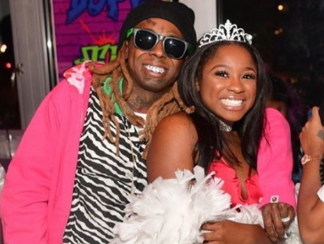 Lil Wayne's Daughter Speaks Out, Addresses Hospitalization: Don't believe everything you hear.