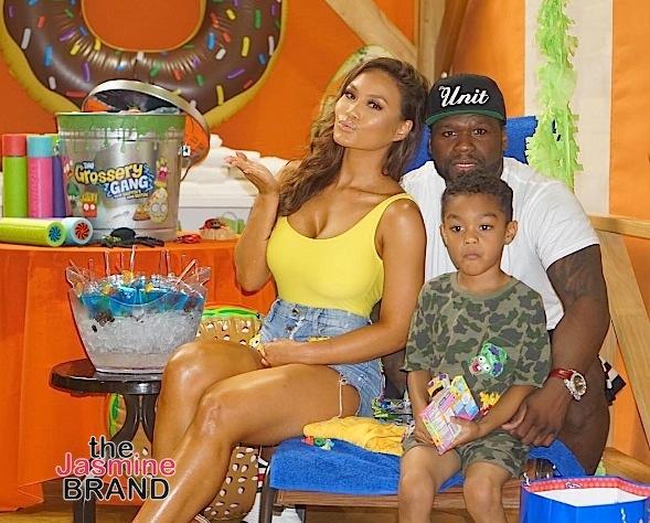 50 Cent & Daphne Joy Celebrate Son's 5th Birthday