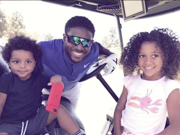 Reggie Bush & Lilit Welcome Baby Boy: Agyemang Bush!