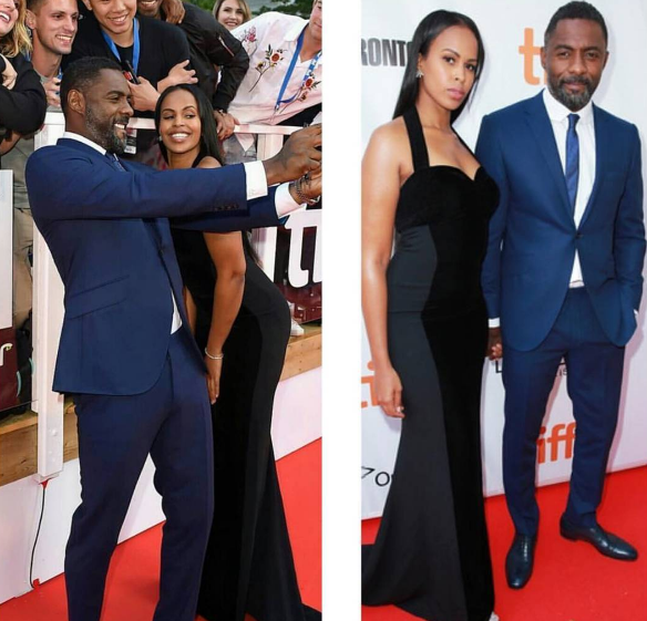 Idris Elba Goes Public w/ Girlfriend Model Sabrina Dhowre [Photos]