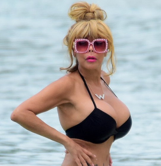Wendy Williams Sports Bikini Body During Barbados Vacay